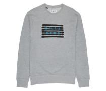 Spray Die Cut Crew Sweater grey heather