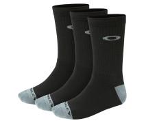 Performance Basic Crew Socken 3Pk schwarz