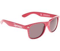 Velvet bright pink Sonnenbrille pink