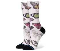 Social Butterfly Socks