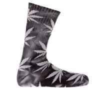 Tye Dye Plantlife Crew Socken schwarz
