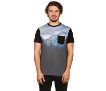 Scene Pocket T-Shirt schwarz