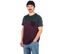 Block Pocket T-Shirt aubergine