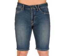 Solver Denim Shorts blau