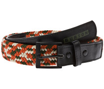 Halifax Woven Belt orange