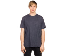 Pocket T-Shirt blau