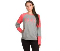 Fortune Crew Sweater grau