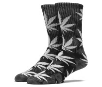 Tie Dye Crew Socken schwarz