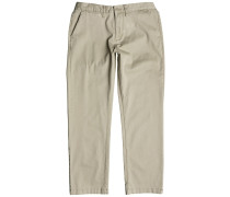 Worker Roomy Chino Hose braun