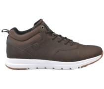 Commuter Mid L Sneakers dark brown