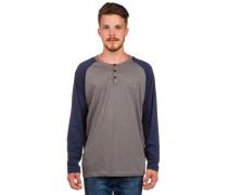 Dty Dock Henley T-Shirt grau