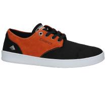 The Romero Laced X Bronson Skate Shoes orange