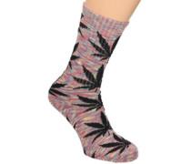 Streaky Plantlife Crew Socks multi