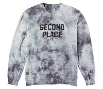 Second Place Crew Fleece Sweater schwarz