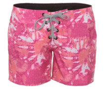 "Graffiti Beach 5"" Boardshorts very berry"
