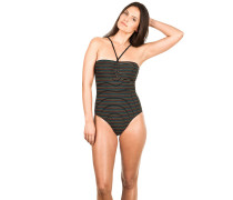 Rail Swimsuit Badeanzug schwarz