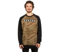 Vault Crew Sweater splinter camo