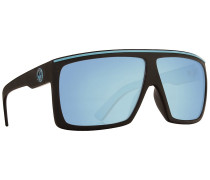 The Fame Matte Black and Blue Sonnenbrille blau