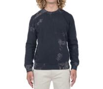 Beach Club Raw Crew Sweater black
