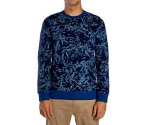 Surf Club Lineup Crew Sweater coastal blue