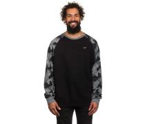 Seize Crew Fleece Sweater schwarz