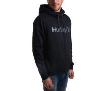 Bayside Sherpa Zip Hoodie black