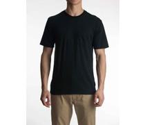 Micro Stripe Pocket T-Shirt