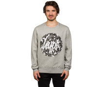 Hype Monotone Circle Crew Sweater