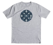 Geocircle T-Shirt grau