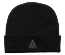 Triple Triangle Beanie black