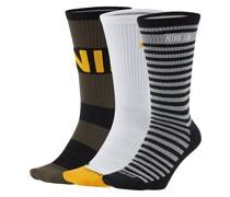 Everyday Max Lightweight Skate Crew 3Pk Socks color