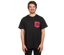 Rose Pocket T-Shirt black
