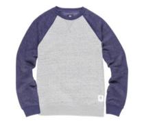 Meridian Block Crew Sweater grey heather