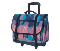 Pencil Wheelie Satchel Backpack blue