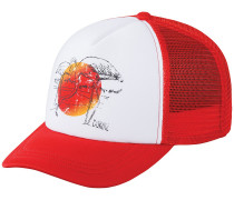 Flamingo Trucker Cap weiß