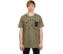 Stoked T-Shirt grün