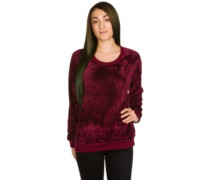 Temptation Sweater red wine
