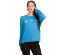 Seniors Only Crew Sweater blau