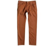 Slim Colour Jeans orange
