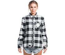 Jackson Flannel Hemd schwarz