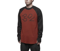 Mutiny Thermal Sweater oxblood