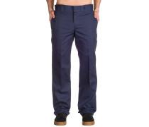 S/Straight Work Pants navy blue