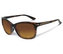 Drop In Tortoise Sonnenbrille braun
