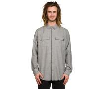 Dan Flannel Hemd grau