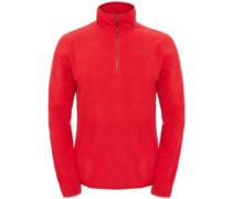100 Glacier 1/4 Zip Fleece Pullover tnf red