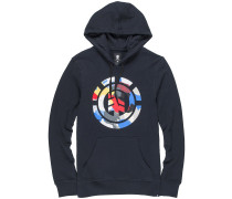 Cut Out Icon Hoodie schwarz