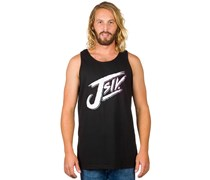 Trashed Tank Top schwarz