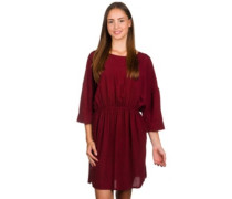 Jamy Dress bordeaux red