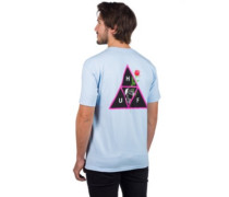 Rosa Calvaria Tripe Triangle T-Shirt light blue