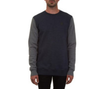 Single Stone Crew Sweater navy
